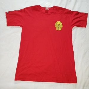 Crooks and Castles Red Egyptian T Shirt